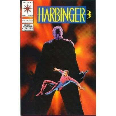 Harbinger #21 (Comic Book) - Valiant Comics