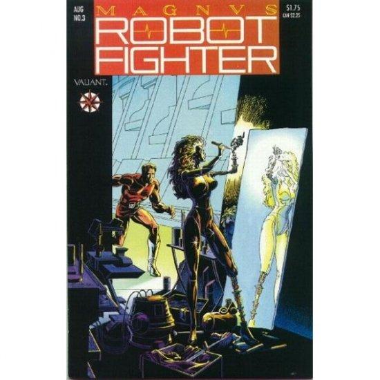 Magnus Robot Fighter, Vol. 1 #3 - no card (Comic Book) - Valiant Comics