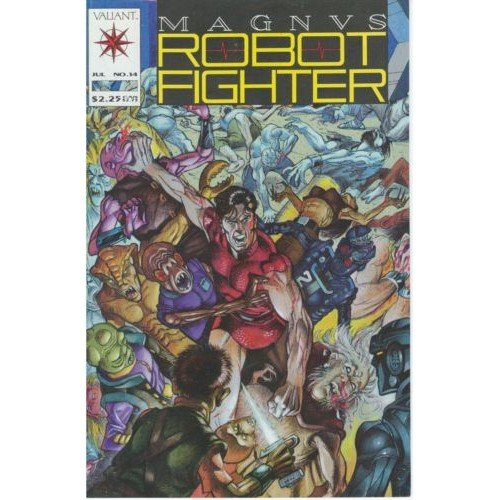 Magnus Robot Fighter, Vol. 1 #14 (Comic Book) - Valiant Comics