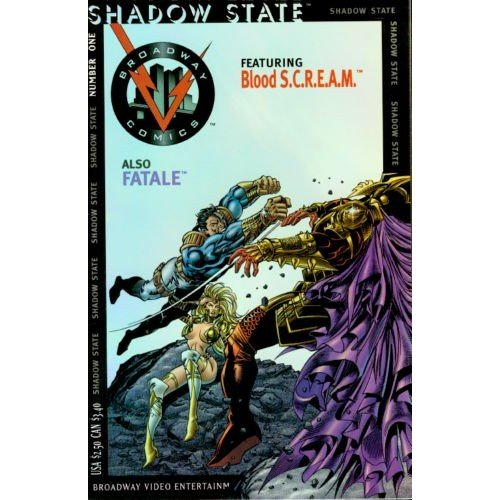 Shadow State #1 (Comic Book) - Broadway Comics - Jim Shooter