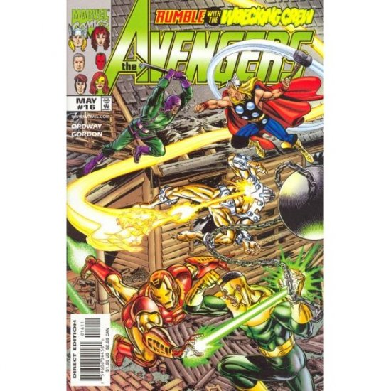 The Avengers, Vol. 3 #16 (Comic Book) - Marvel Comics - Jerry Ordway