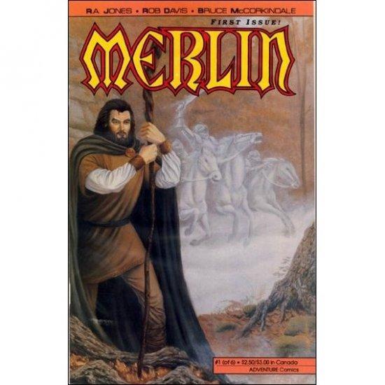 Merlin #1 (Comic Book) - Adventure Comics - R. A. Jones, Rob Davis