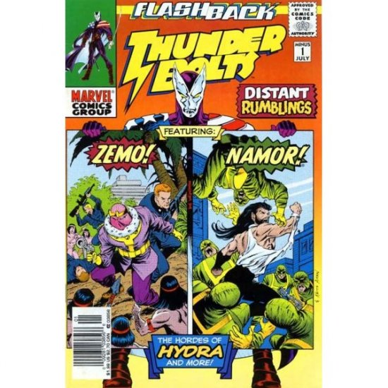 Thunderbolts #-1 (Comic Book) - Marvel Comics - Kurt Busiek, Steve Epting, Bob Wiacek