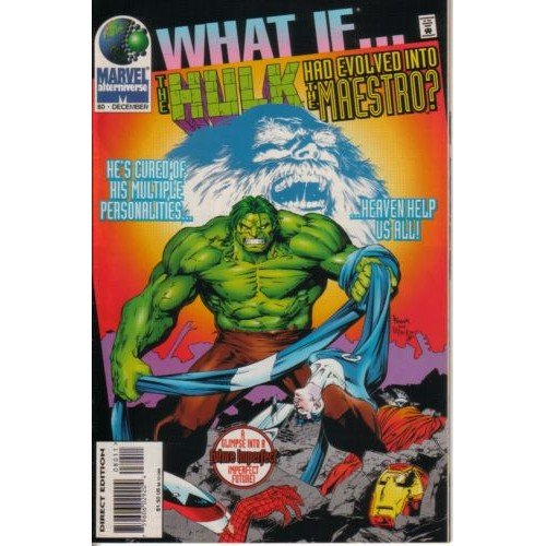 What If, Vol. 2 #80 (Comic Book) - The Hulk - Marvel Comics - James Felder, Kerry Gammill