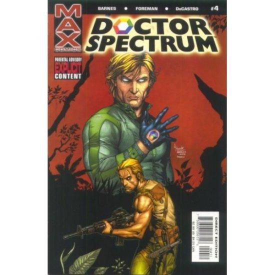 Doctor Spectrum #4 (Comic Book) - MAX Comics (Marvel) - Sara Barnes, Travel Foreman, Nelson DeCastro