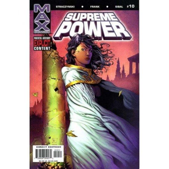 Supreme Power #10 (Comic Book) - MAX Comics (Marvel) - J. Michael Straczynski, Gary Frank