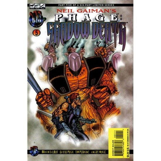 Neil Gaiman's Phage: Shadowdeath #5 (Comic Book) - Tekno Comix - Talbot, Pugh, Perkins