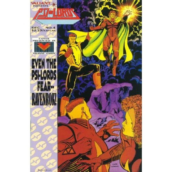 Psi-Lords #4 (Comic Book) - Valiant Comics