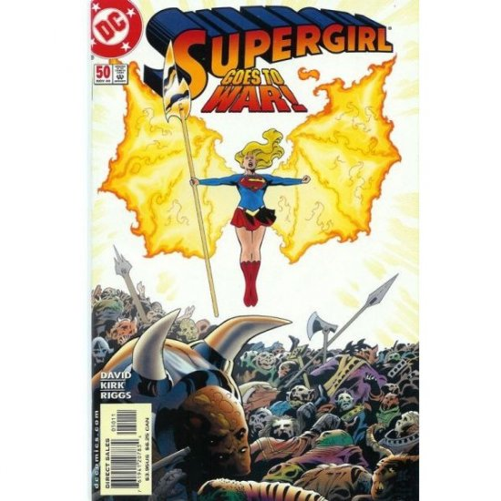 Supergirl, Vol. 4 #50 (Comic Book) - DC Comics - Peter David, Leonard Kirk & Robin Riggs