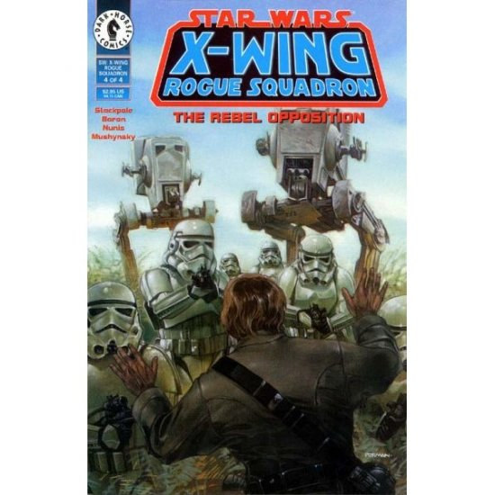 Star Wars: X-Wing Rogue Squadron #4 (Comic Book) - Dark Horse Comics - Michael A. Stackpole