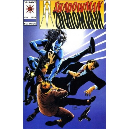 Shadowman Vol. 1 #9 (Comic Book) - Valiant