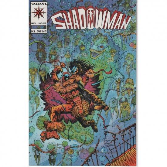 Shadowman Vol. 1 #26 - Autographed (Comic Book) - Valiant