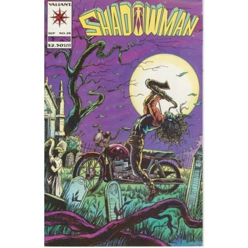 Shadowman Vol. 1 #28 (Comic Book) - Valiant