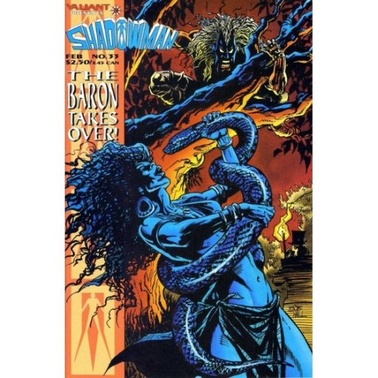Shadowman Vol. 1 #33 (Comic Book) - Valiant
