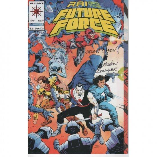 Rai and the Future Fore #9 - Autographed (Comic Book) - Valiant