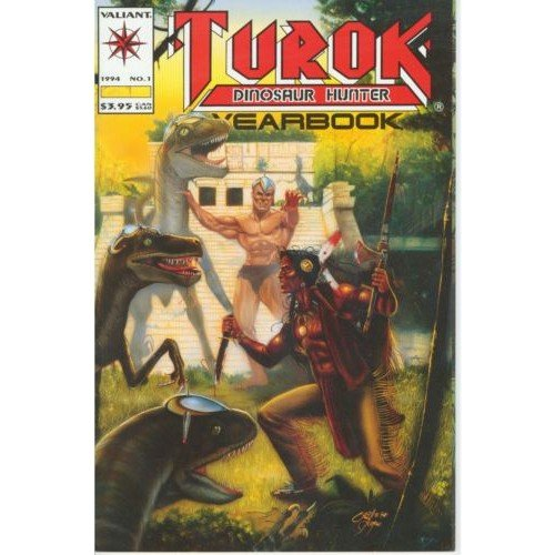 Turok: Dinosaur Hunter Yearbook #1 (Comic Book) - Valiant
