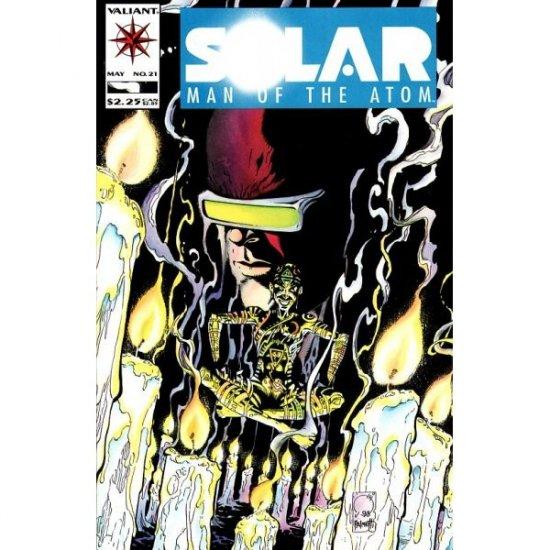 Solar, Man of the Atom, Vol. 1 #21 (Comic Book) - Valiant