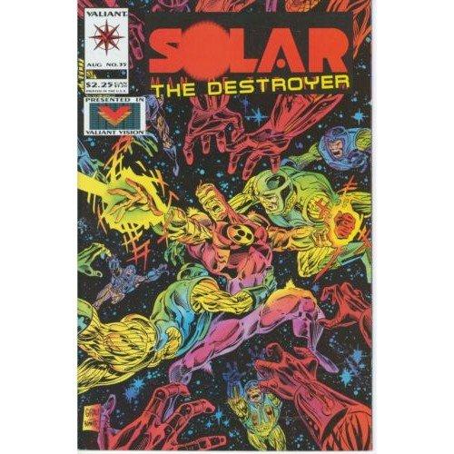 Solar, Man of the Atom, Vol. 1 #35 (Comic Book) - Valiant