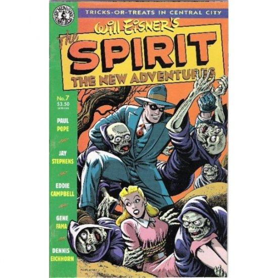 Spirit: The New Adventures #7 (Comic Book) - Kitchen Sink Press