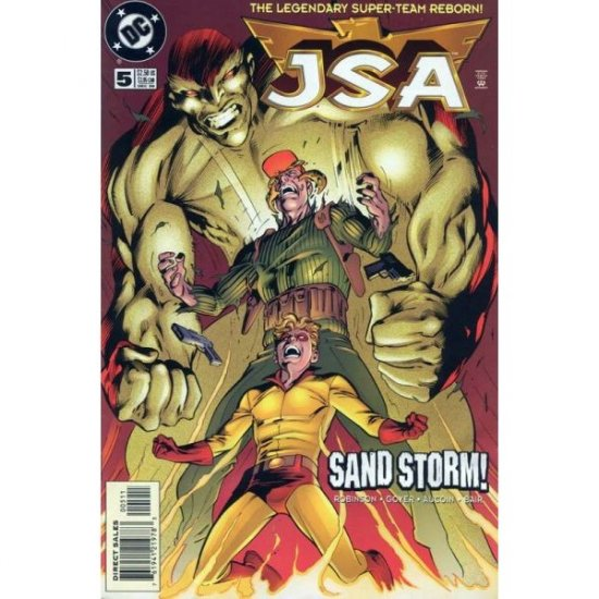 JSA #5, DC Comics - David S. Goyer and James Robinson (Comic Book)