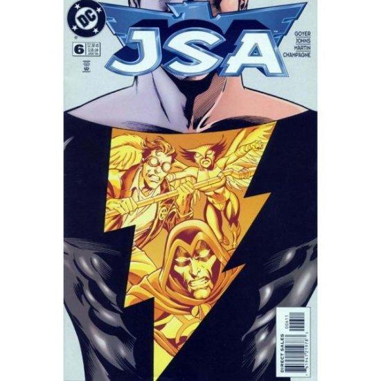 JSA #6, DC Comics - Geoff Johns and David S. Goyer (Comic Book)