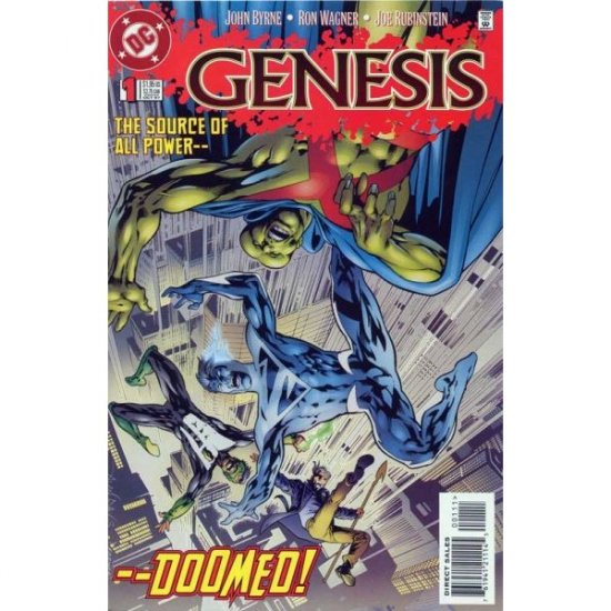 Genesis #1, DC Comics - John Byrne, Ron Wagner and Joe Rubinstein (Comic Book)