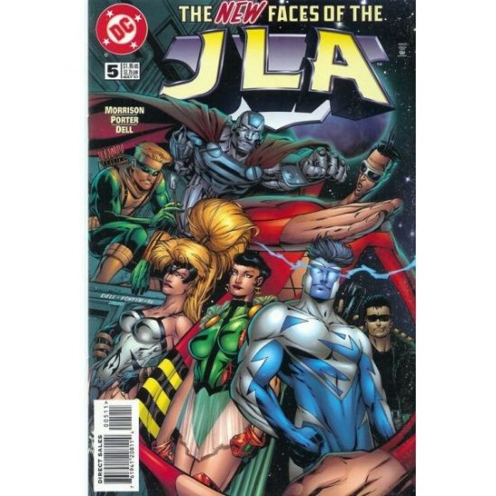 JLA #5 (Comic Book) - DC Comics - Grant Morrison, Howard Porter & John Dell