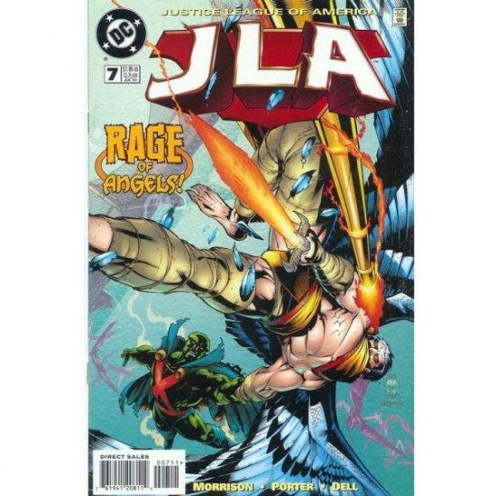 JLA #7 (Comic Book) - DC Comics - Grant Morrison, Howard Porter & John Dell