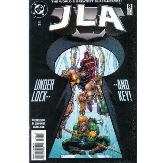 JLA #8 (Comic Book) - DC Comics - Grant Morrison, Howard Porter & John Dell