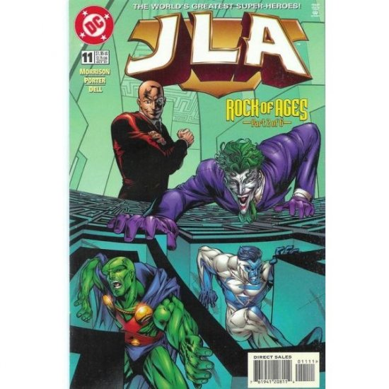 JLA #11 (Comic Book) - DC Comics - Grant Morrison, Howard Porter & John Dell