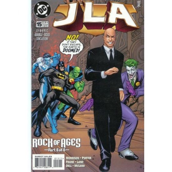 JLA #15 (Comic Book) - DC Comics - Grant Morrison, Howard Porter & John Dell