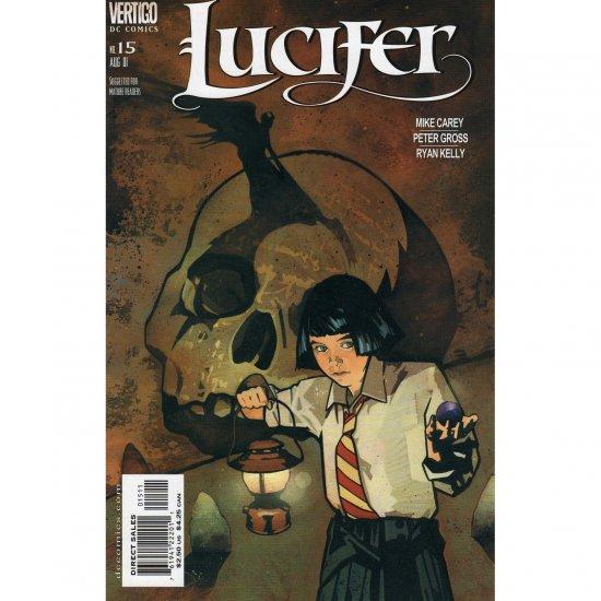 Lucifer #15 (Comic Book) - DC Vertigo - Mike Carey, Peter Gross