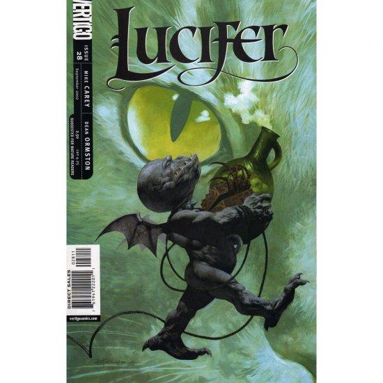 Lucifer #28 (Comic Book) - DC Vertigo - Mike Carey, Dean Ormston