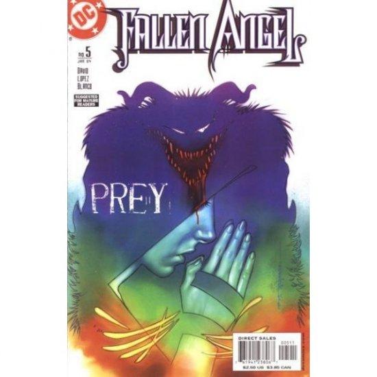 Fallen Angel, Vol. 1 #5 (Comic Book) - DC Comics - Peter David, David Lopez & Fernando Blanco