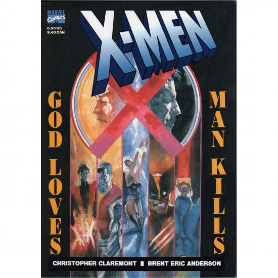 X-Men: God Loves, Man Kills (Comic Book) - Marvel Comics - Chris Claremont, Brent E. Anderson