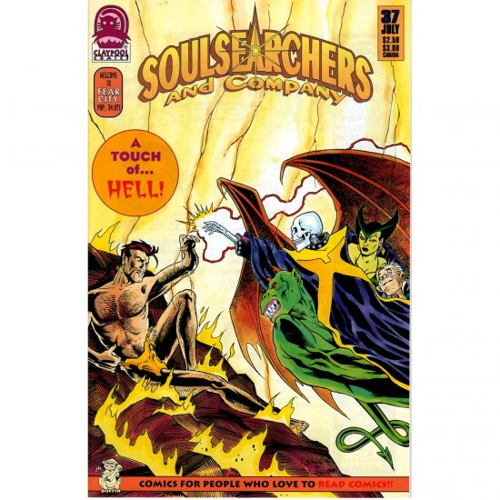 Soulsearchers and Company #37 (Comic Book) - Claypool Comics