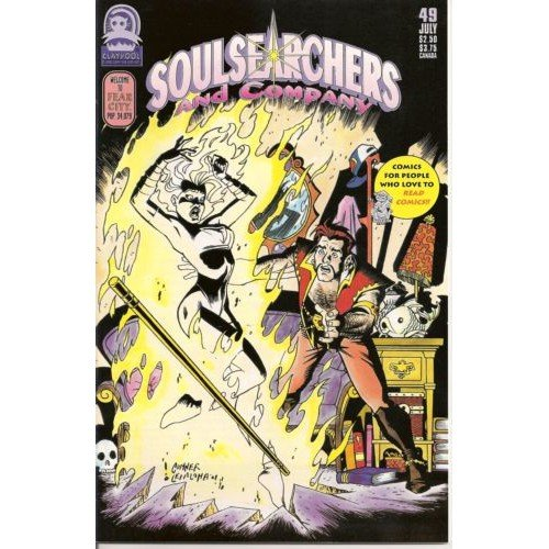Soulsearchers and Company #49 (Comic Book) - Claypool Comics