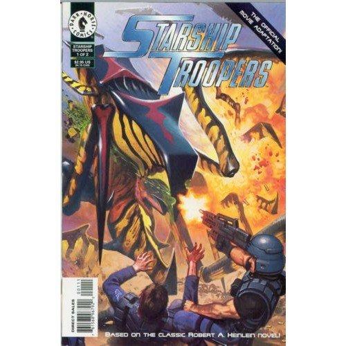 Starship Troopers: The Official Movie Adaptation #1 (Comic Book) - Dark Horse Comics - Bruce Jones
