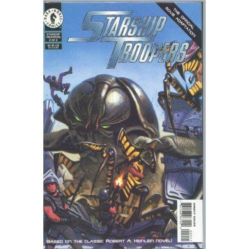 Starship Troopers: The Official Movie Adaptation #2 (Comic Book) - Dark Horse Comics - Bruce Jones