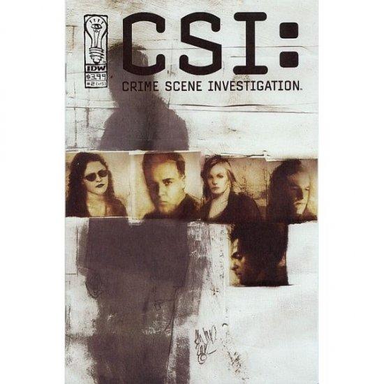 CSI: Serial #2 (Comic Book) - IDW Publishing