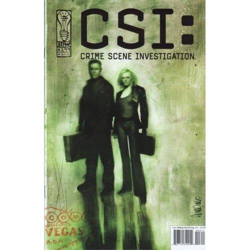 CSI: Serial #3 (Comic Book) - IDW Publishing