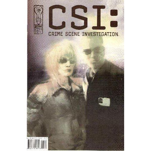CSI: Serial #5 (Comic Book) - IDW Publishing
