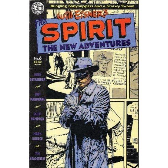 Spirit: The New Adventures #6 (Comic Book) - Kitchen Sink Press