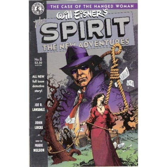 Spirit: The New Adventures #8 (Comic Book) - Kitchen Sink Press