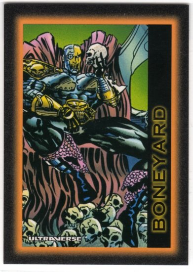 Ultraverse #00 Promo Card (SkyBox) - Boneyard