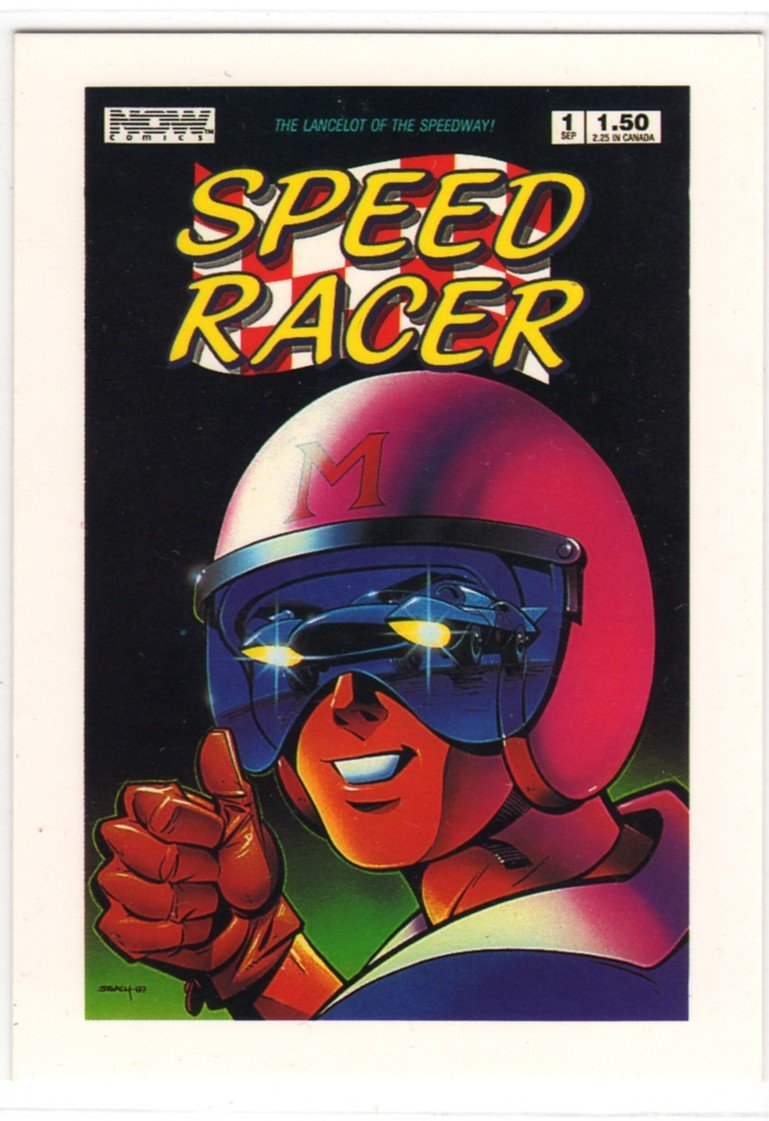 Speed Racer Promo Card (Hero Illustrated) - Trading Card