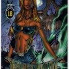 Wizard Darkchylde Promo Card 18 (Wizard) - art by Randy Queen