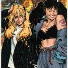 Strangers In Paradise Promo Card (Comic Images) - Francine & Katchoo