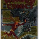 Golden Age of Comics Chromium Promo Card (Comic Images) featuring Wonder Comics from May, 1939