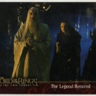 Lord of the Rings: The Two Towers Promo Card P1 (Topps) - Saruman and Grima